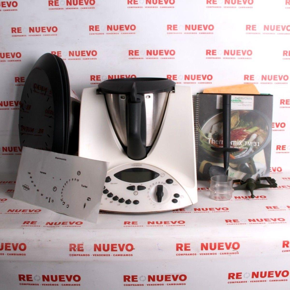 Robot de cocina thermomix tm 31 de segunda mano e289227 tienda online de segunda mano - Thermomix o robot de cocina ...