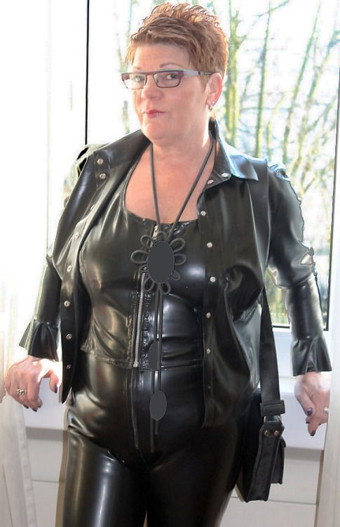Suggest mature latex leather