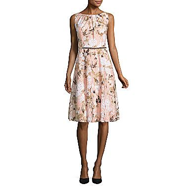 150777c6 Buy Black Label by Evan-Picone Sleeveless Lace Fit & Flare Dress at JCPenney.com  today and enjoy great savings.