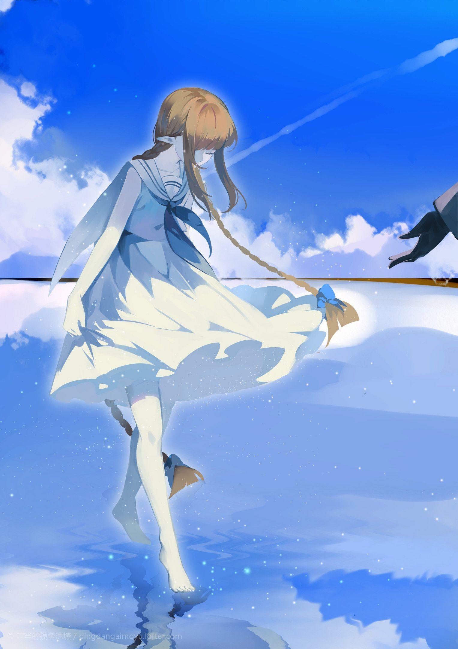 Pin by ( ̄^ ̄)鮫吉 on watgbs Blue sea, Anime, Rpg horror games