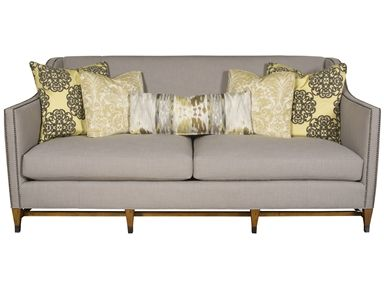 For Vanguard Anthony Sofa V411 S And Other Living Room Sofas At Furniture In Conover Nc Fabric Only Pinterest