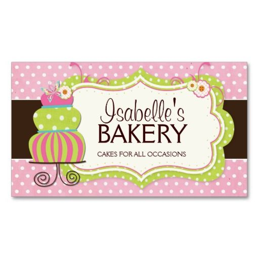 Whimsical bakery business card business card ideas pinterest whimsical bakery business card colourmoves