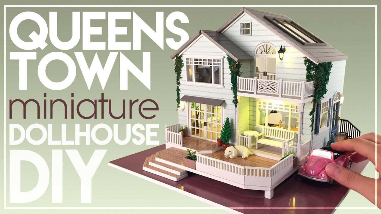 DIY QUEENSTOWN NEW ZEALAND MINIATURE DOLLHOUSE with Chic