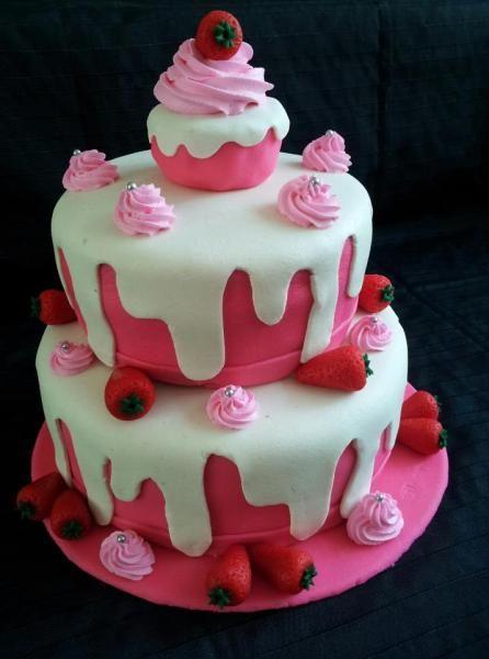 Marsepein taart marzipan cake decoratie taarten for Taart en decoratie