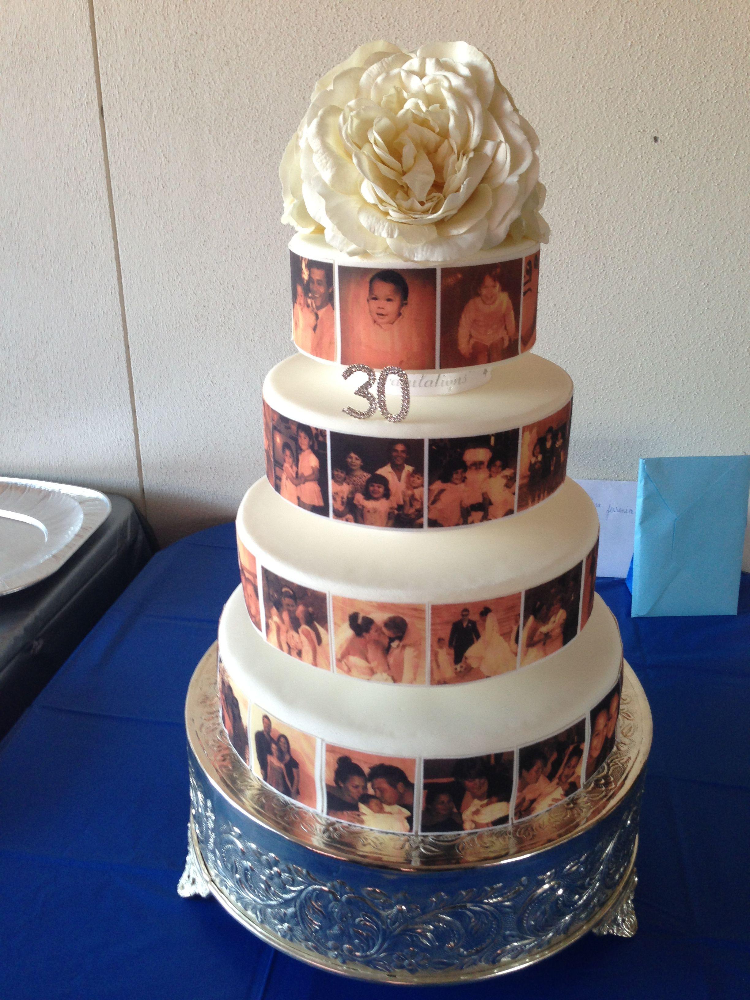 30th birthday cake by cake a bow brisbane australia