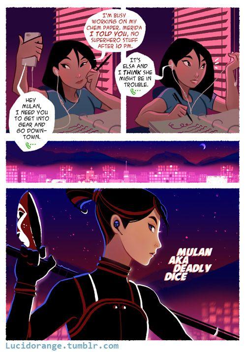 MsMarshmallow Madness:) — lucidorange: ROTBTFD: Superheroes Comic (Intro) ...