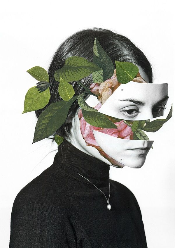 The Human Body And Nature Juxtaposed In Hauntingly Beautiful, Surreal Collages…