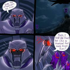 Transformers Prime: Spoofs and Bloopers - I love this pic