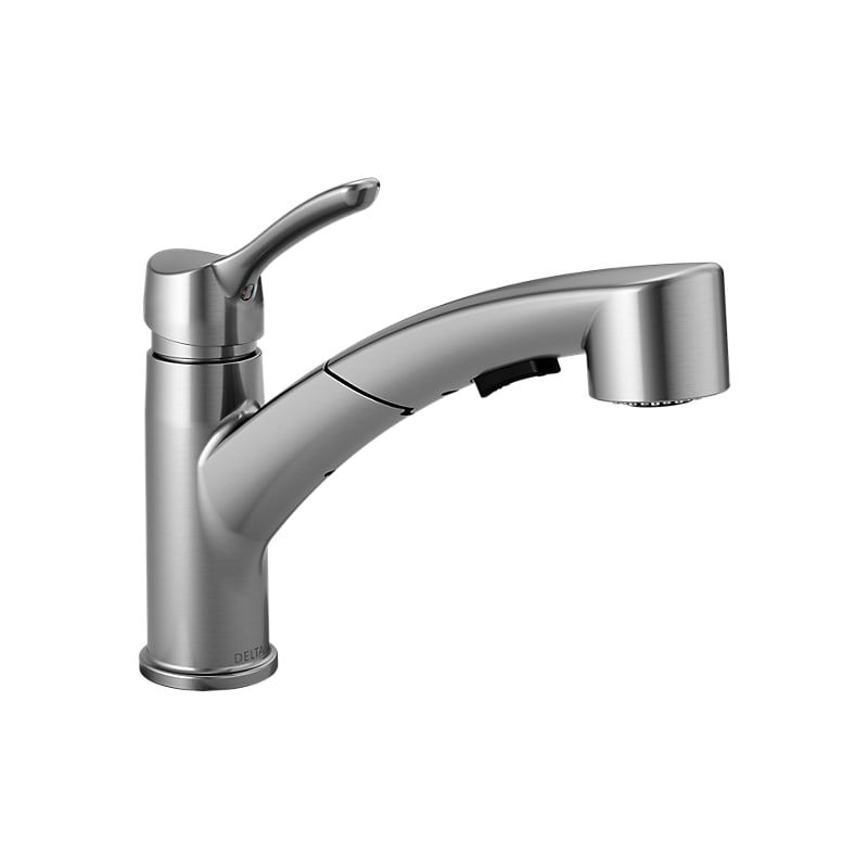 Delta 4140 Dst Pull Out Kitchen Faucet Delta Faucets Kitchen