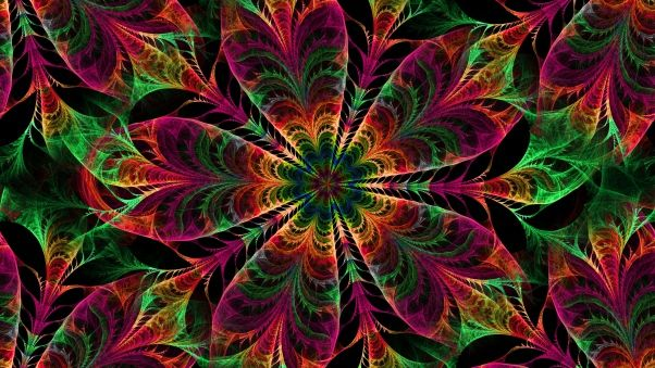 Kaleidoscope Wallpapers Hd Desktop Backgrounds Mandala Wallpaper Abstract Wallpaper Flower Mandala