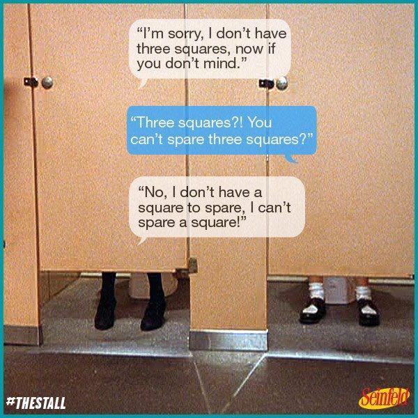 Elaine Benes Seinfeld I M Sorry I Don T Have Three Squares