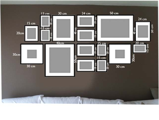 comment agencer ses tableaux au mur cadre tableau. Black Bedroom Furniture Sets. Home Design Ideas