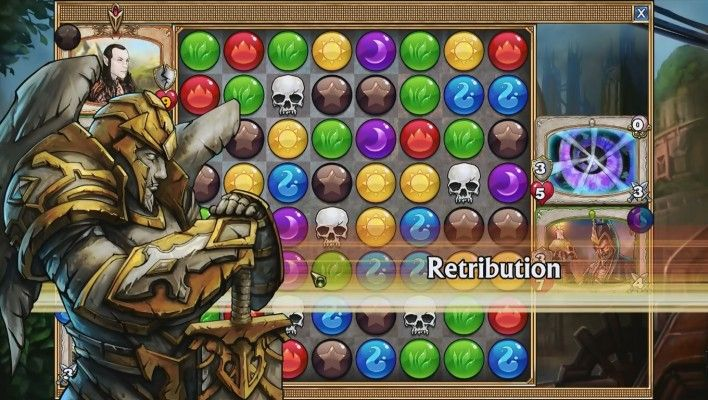 Gems of War is a Free-to-play Puzzle [match-3 puzzle