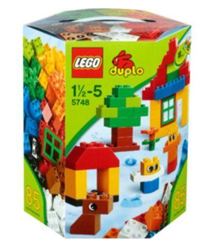 $34.90 LEGO DUPLO Creative Building Kit ~ 86 pieces 5748 Ages 1 ...