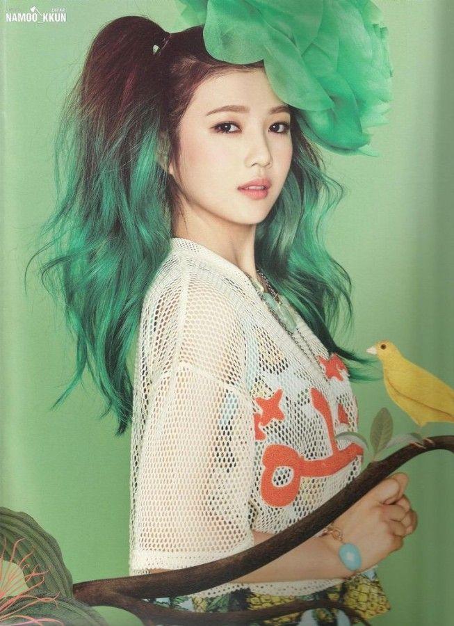 Happy St Patrick S Day 15 K Pop Idols With Green Hair Color De Pelo Pelo Verde Pastel Pelo Verde