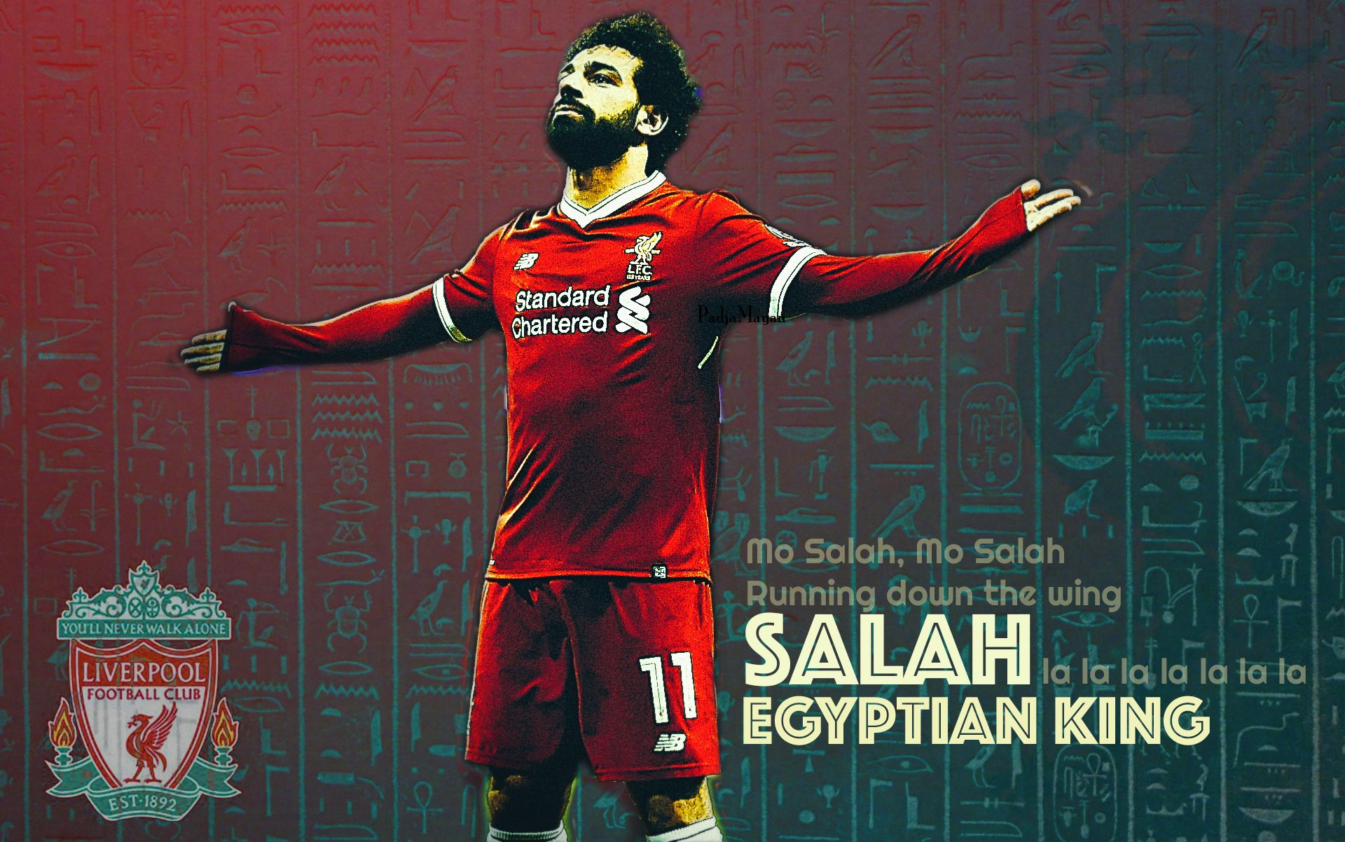 Mo Salah Wallpaper #Salah, #Liverpool