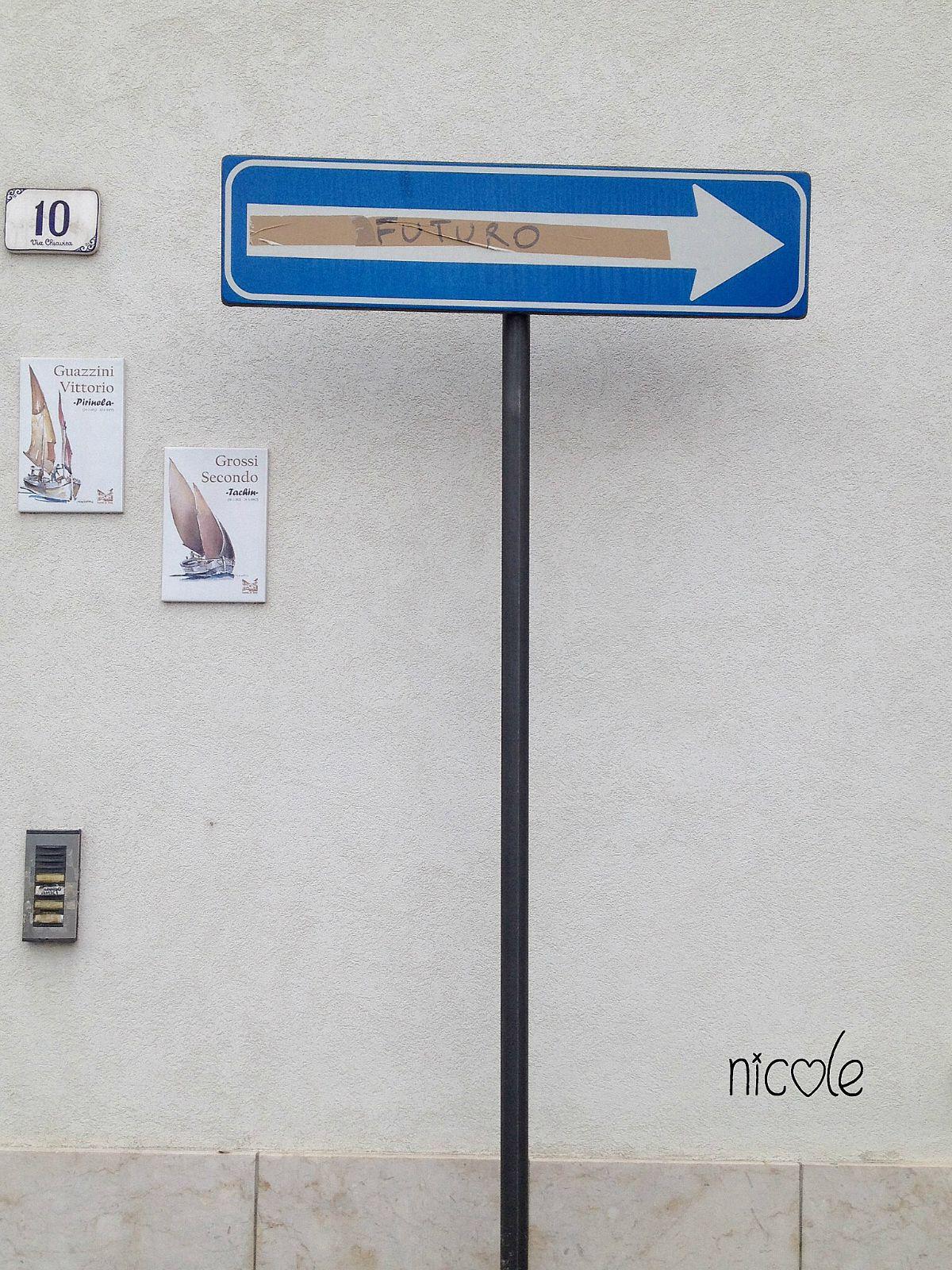 Futuro. Future. Rimini. Streets. Italy