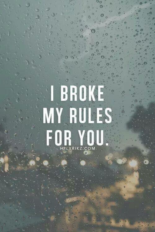 Minnie Its True I Broke All My Rules And At Last Broke Myself