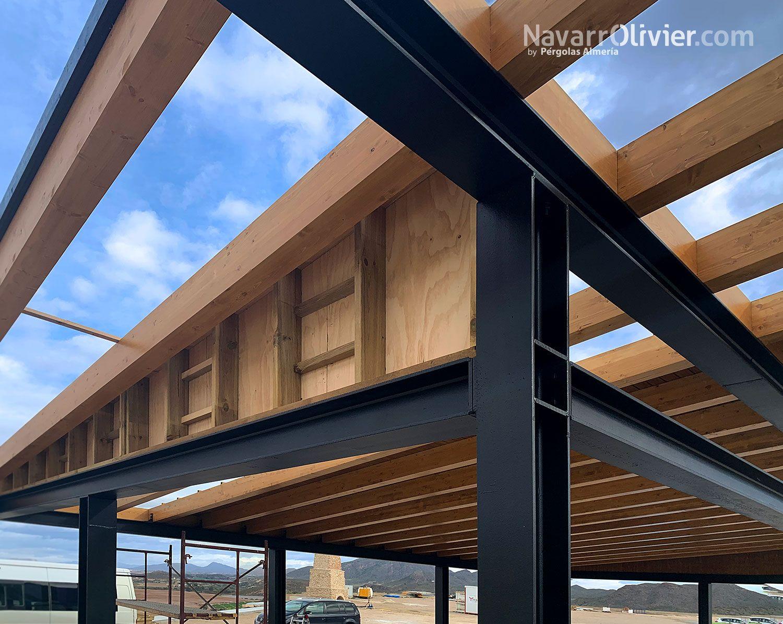 Estructuras Y Construcción De Madera Casas Con Estructura De Acero Construccion En Madera Arquitectura En Madera