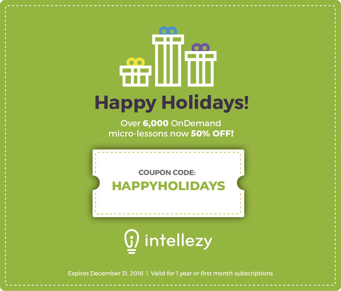 Holy Happy Holidays Batman 50 Off Intellezy Courses We Can