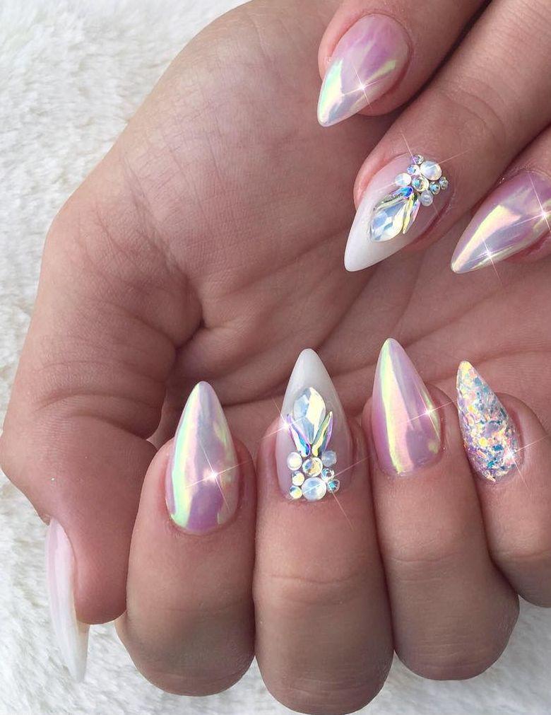 100+ Nails Art Ideas // Chrome Nails // Fashion And Beauty Ideas ...