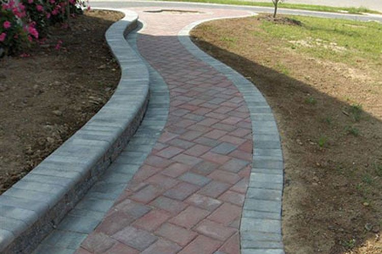 Cambridge Pavingstones Design Gallery Backyard Landscaping Front Yard Landscaping Pavingstones