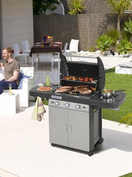 Campingaz 3 Series.Barbecue Campingaz 3 Series Come La Cucina Di Casa Ma In Giardino