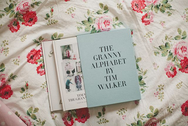 the granny alphabet by tim walker