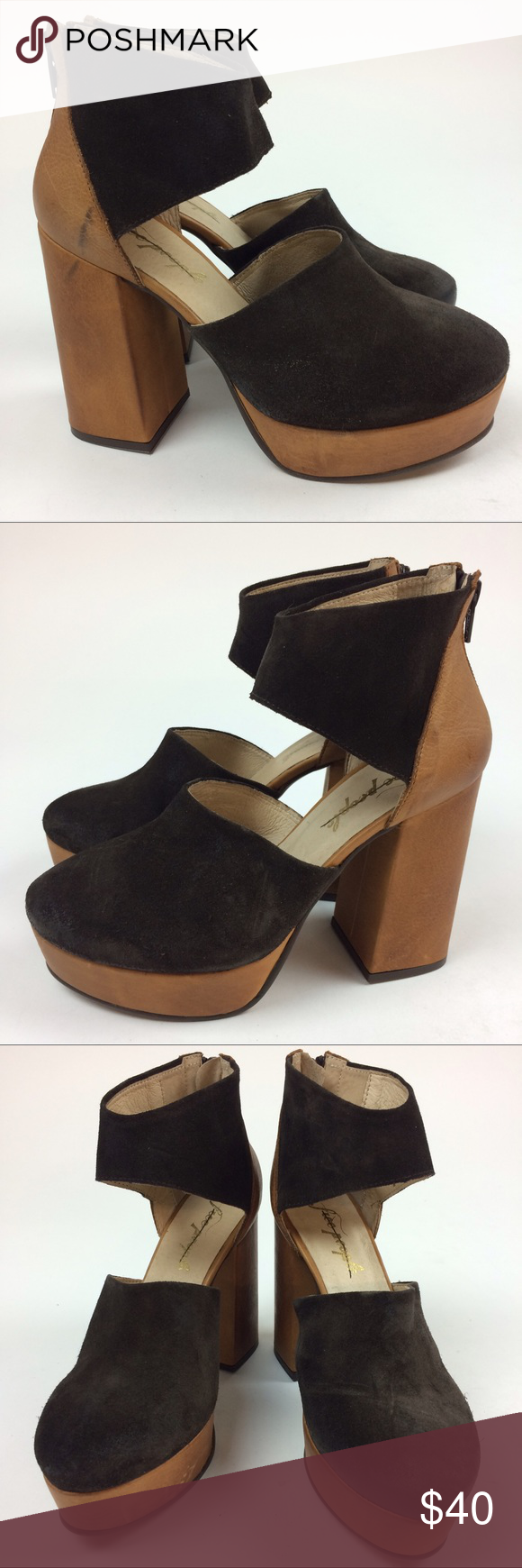 bf72ec6ef38 Free People Luxor Platform Heels Euro 37 These platform heels by Free People  are adorable! They are brand new however have a few scuffs that I did not  ...