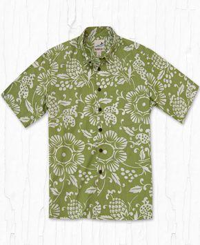 7c75adc5 Kahala - Duke's Pareo Reverse Wasabi Duke, Hawaiian, Shirts, Wedding,  Valentines Day