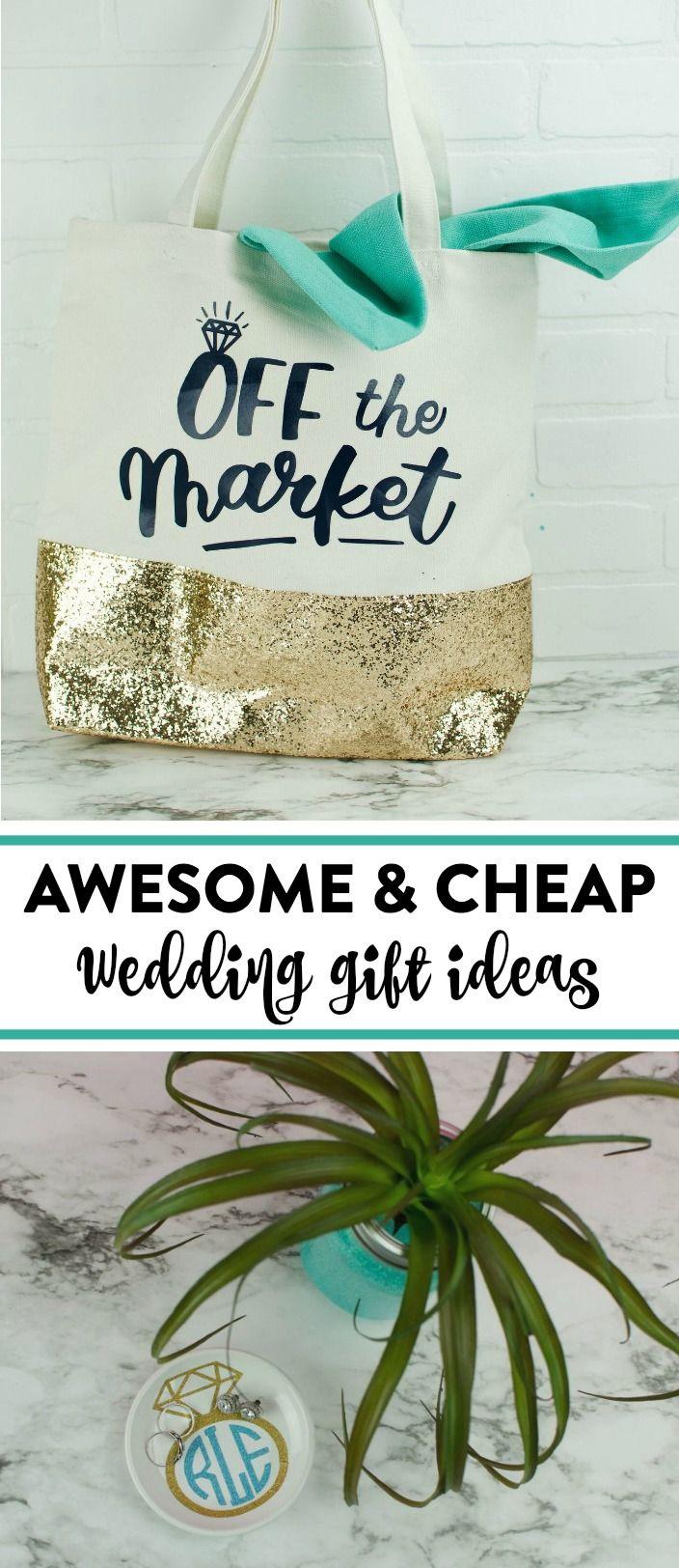 Cheap diy wedding gifts diy wedding ideas pinterest diy