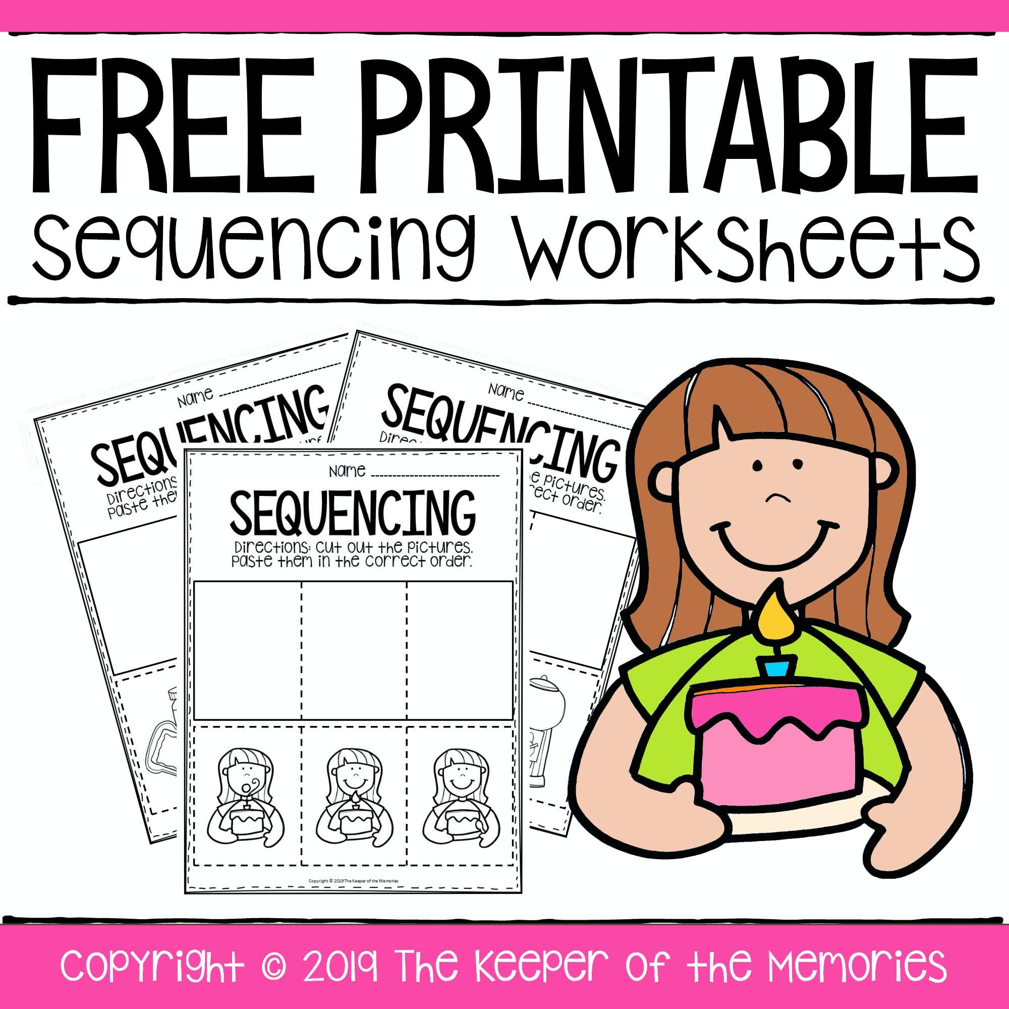Free Printable Sequence Of Events Worksheets Sequencing Activities Kindergarten Sequencing Worksheets Sequencing Activities Preschool