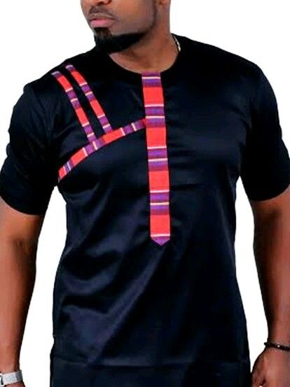 Men African Wear And Embroidery Design African Fashions