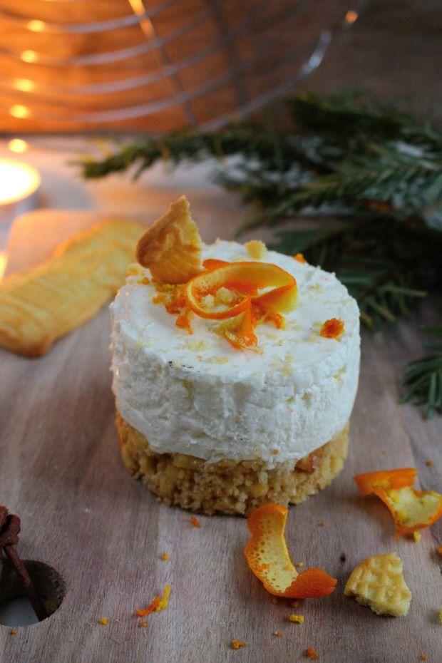 Winterkracher deluxe: Spekulatius-Törtchen mit Orangencreme #blog