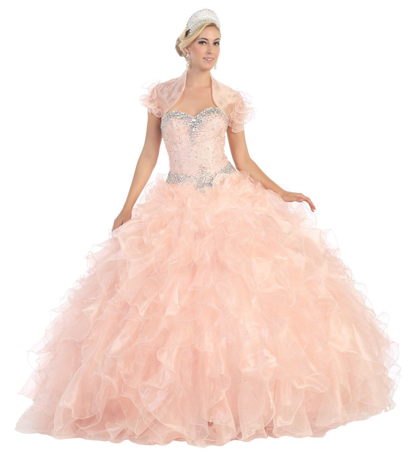Thedressoutlet quinceanera formal prom dress homecoming long gown