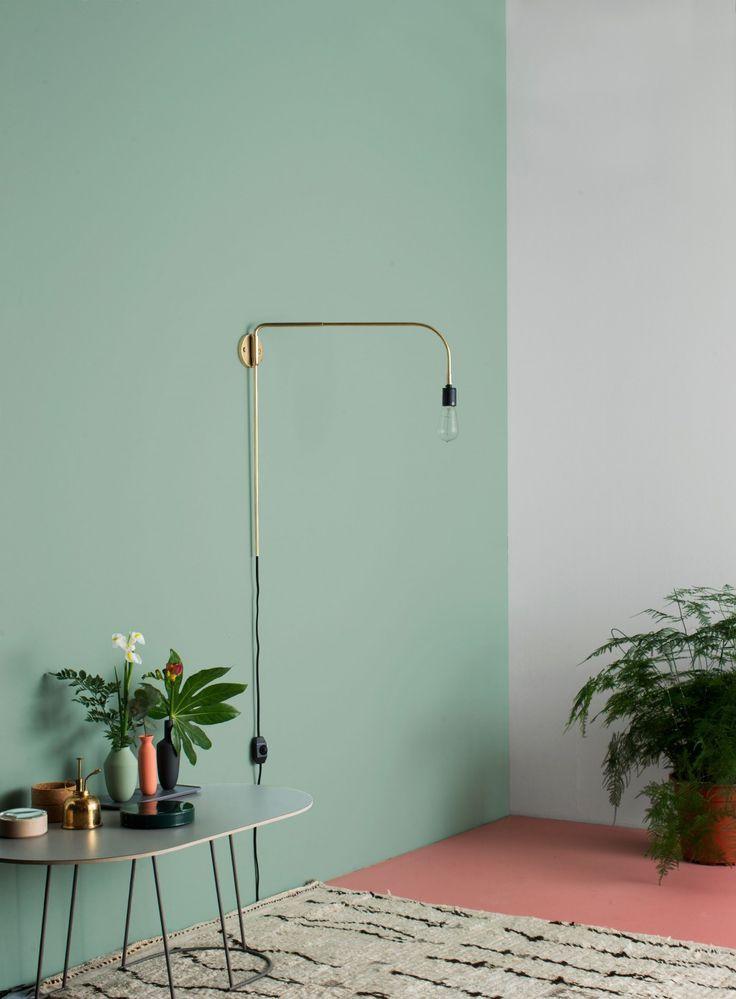 Mintgroen interieur | Pinterest | Walls, Interiors and Lights