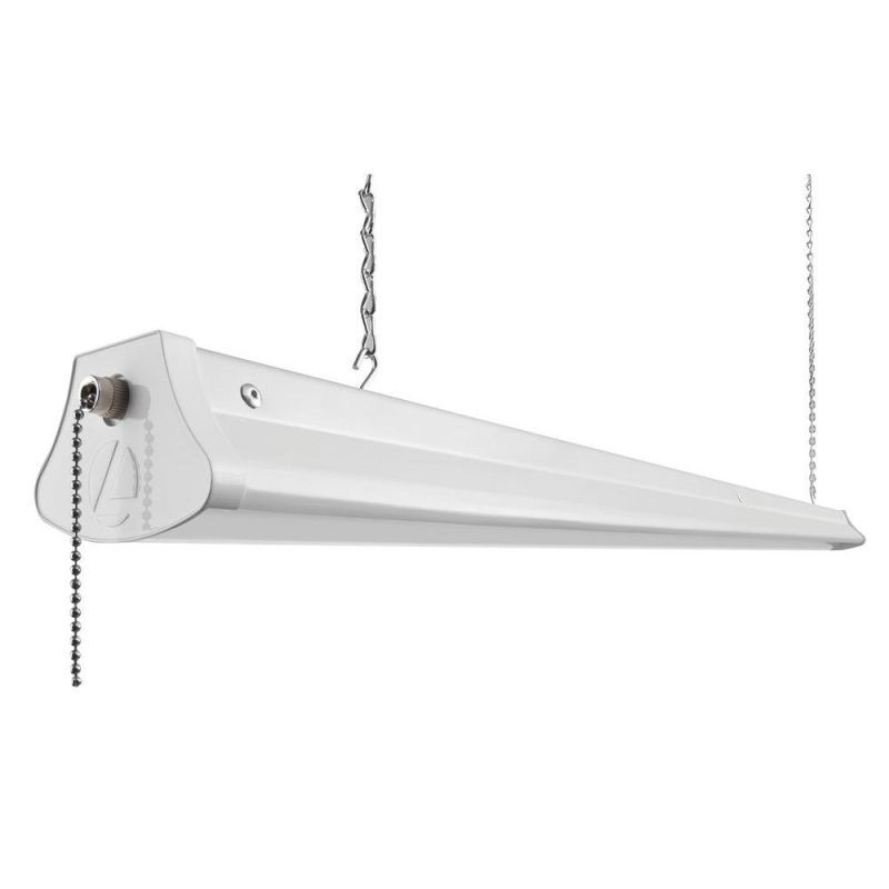 Lithonia lighting 1290l 47 steel construction led hanging shop lithonia lighting 1290l 47 steel construction led hanging shop light white commercial lighting ceiling lights mozeypictures Image collections