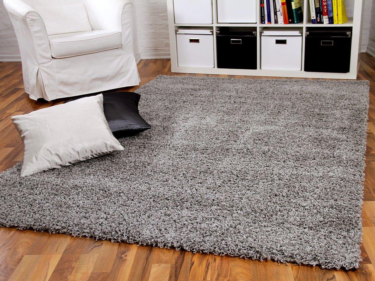 Hochflor Langflor Shaggy Teppich Aloha Grau Mit Bildern Teppich Kinderzimmer Teppich Grau Teppich