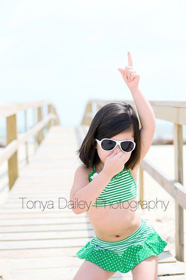 Tonya Dailey Photography...Hitting the Beach. She's so adorable.