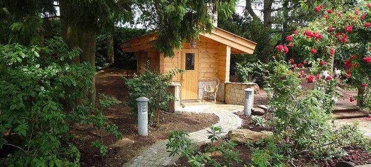 Great die Sauna im eigenen Garten