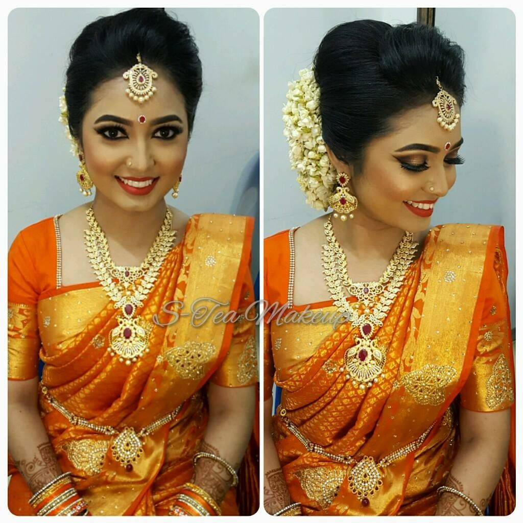 south indian bride | south indian bridal hairstyle | south
