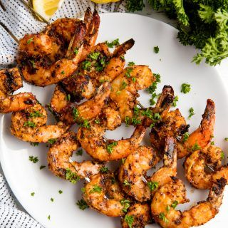 Easy Grilled Shrimp #grilledshrimp
