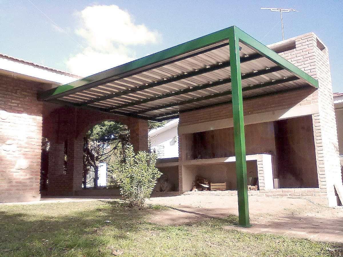 garage renovation ideas - construccion de cocheras quinchos y galeras metálicas
