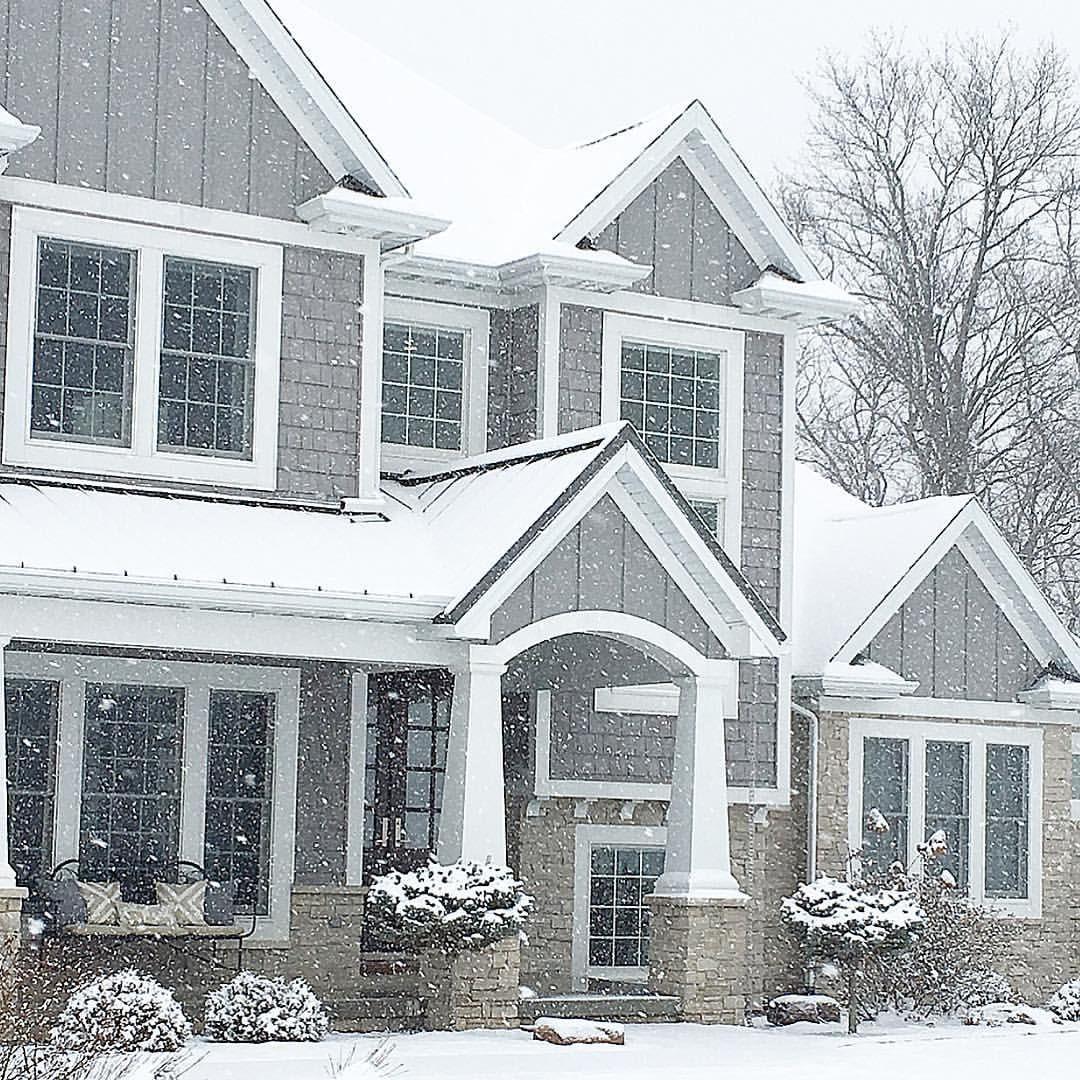 carolineondesign home exterior, home design, craftsman home ...