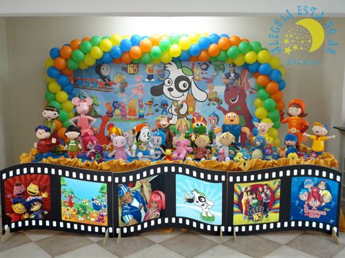 Decoração Infantil Dicovery Kids  * Decoração de festa infantil