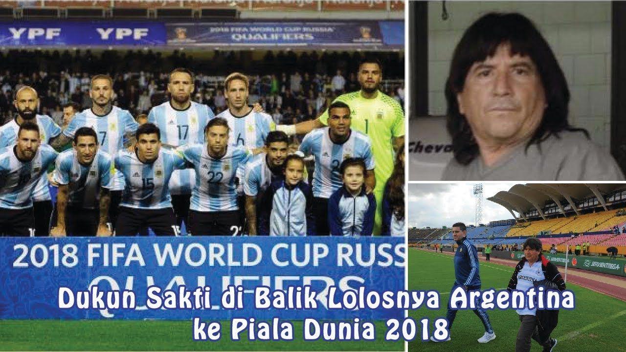 Dukun Sakti Di Balik Lolosnya Argentina Ke Piala Dunia 2018
