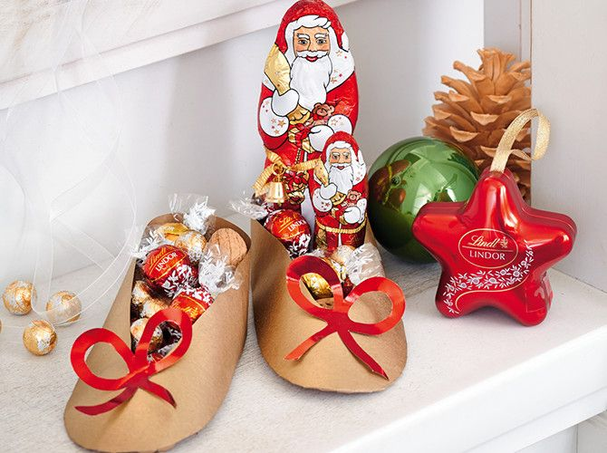 Nikolaus mal ganz anders ob als mitbringsel oder for Nikolaus dekoration basteln