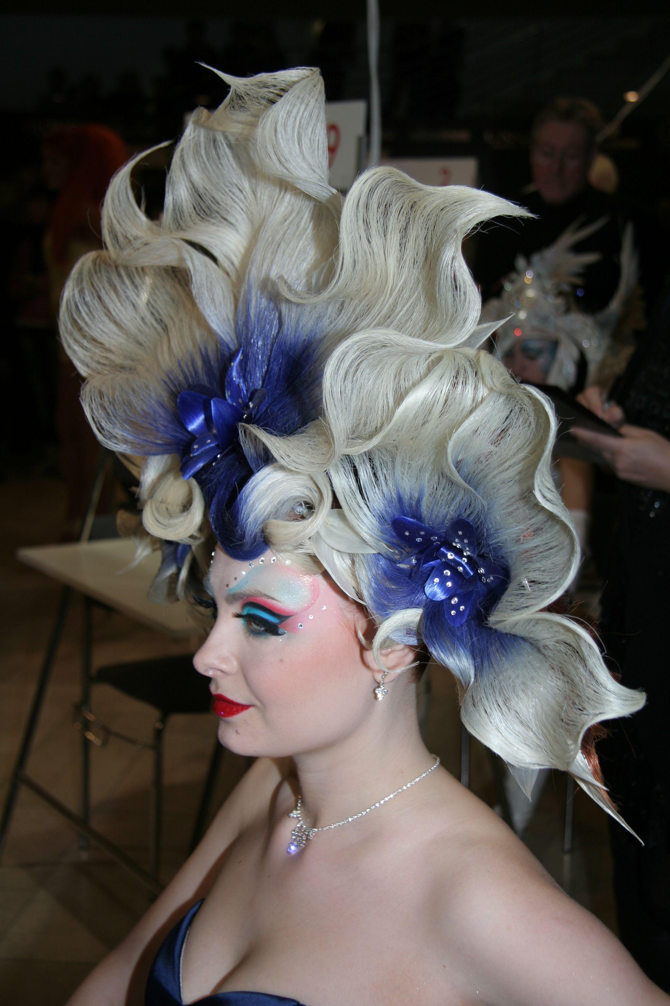 Fantasy Hairstyle Fantasy Hair Artistic Hair Competition Hair