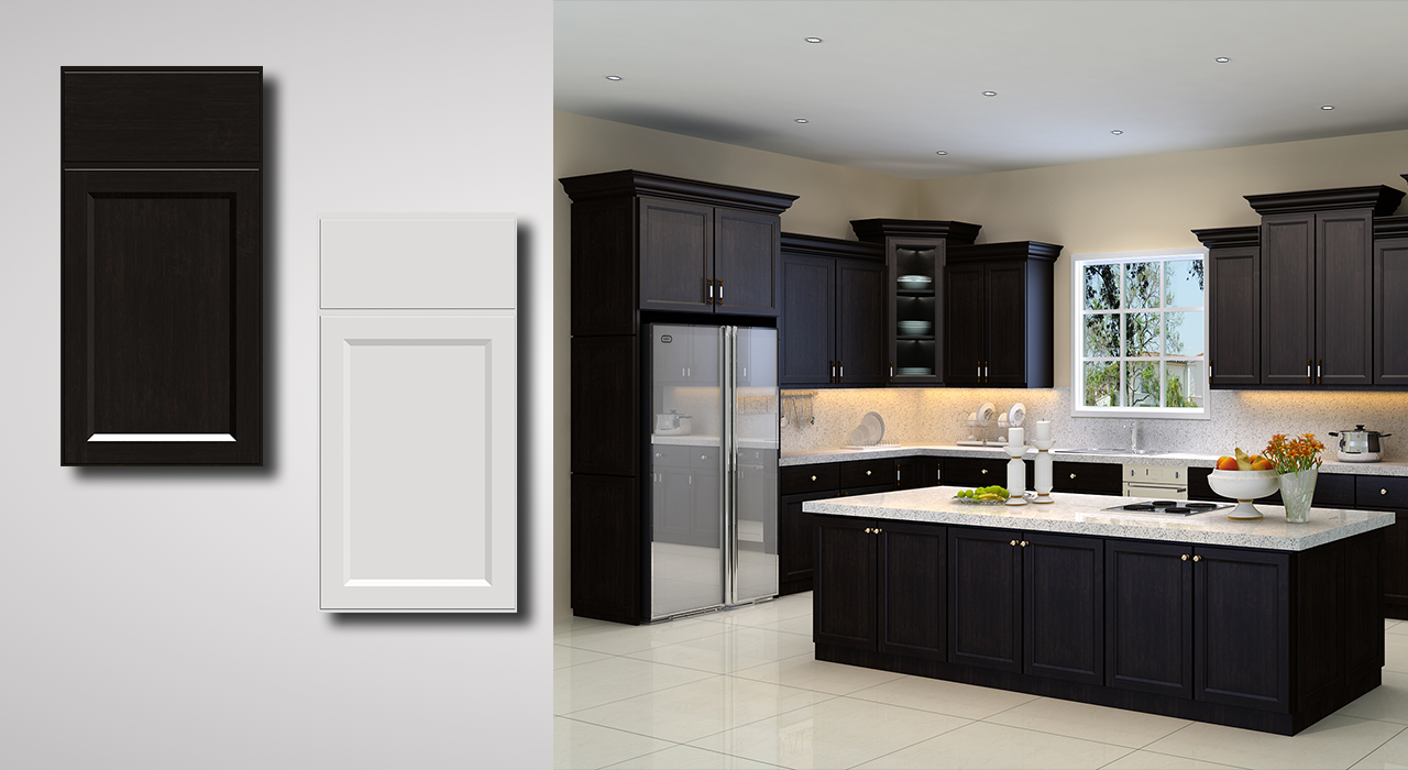 Providence Espresso Cabinets Also Available In Providence White