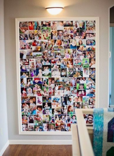 9 cool ways to display photos in real life  Domov